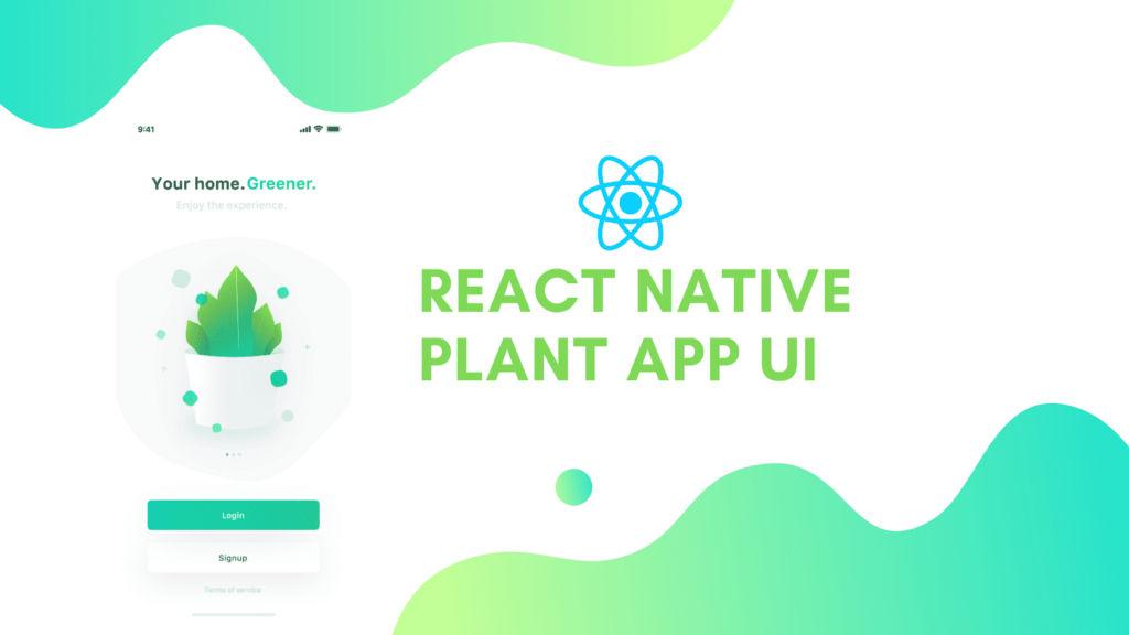 Image for React Native Plant App UI #11: Settings Screen